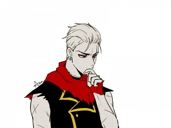 Tags: Anime, Lazuen, Undertale, Papyrus, Thinking, Slicked Back Hair, PNG Conversion, Fanart, Tumblr