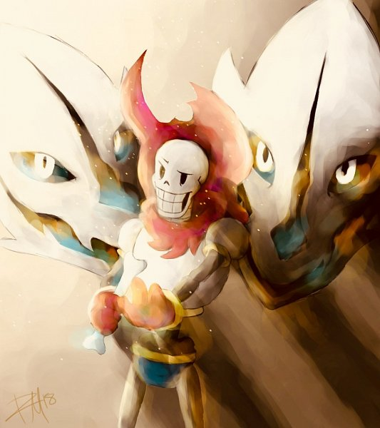 Tags: Anime, Undertale, Papyrus, Artist Request