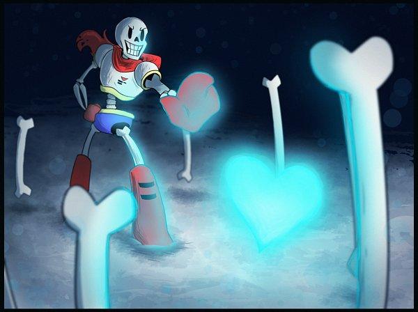 Tags: Anime, Undertale, Papyrus, Artist Request