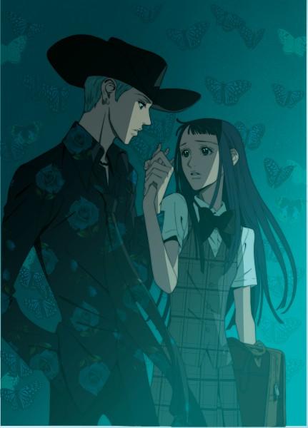 Tags: Anime, Yazawa Ai, Paradise Kiss, Hayasaka Yukari, George Koizumi, Mobile Wallpaper, Screenshot, Official Art