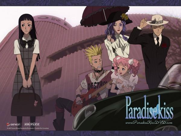 Tags: Anime, Yazawa Ai, Paradise Kiss, Yamamoto Daisuke, George Koizumi, Sakurada Miwako, Nagase Arashi, Hayasaka Yukari, Official Art