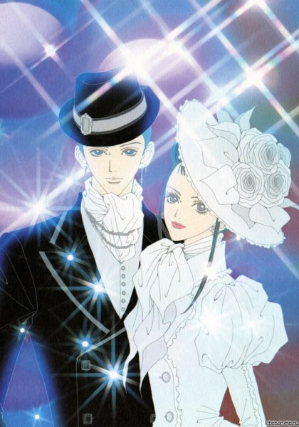 Tags: Anime, Yazawa Ai, Paradise Kiss, George Koizumi, Hayasaka Yukari, Scan, Official Art