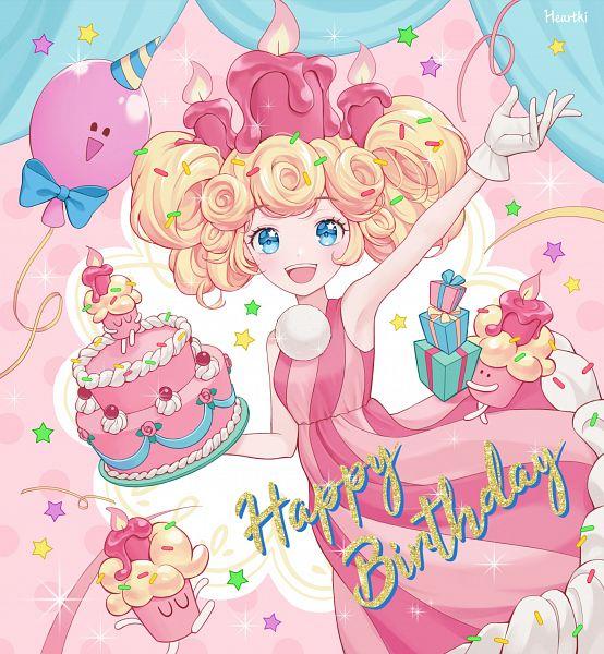Party Balloon (Cookie Run: OvenBreak) - Birthday Cake Cookie