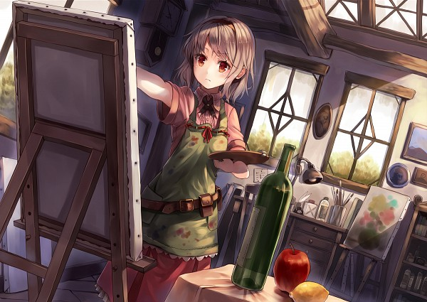 Tags: Anime, Paseri, Painting (Action), Original, Pixiv