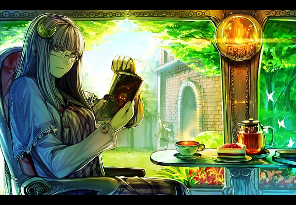 Tags: Anime, RBY, Touhou, Koakuma, Patchouli Knowledge, Moon Clip, deviantART, Pixiv