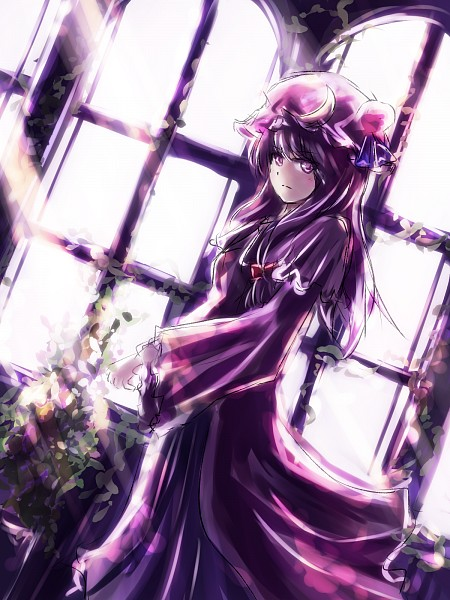 Tags: Anime, thkani, Touhou, Patchouli Knowledge, Moon Clip, Pixiv, Fanart From Pixiv, Fanart, PNG Conversion
