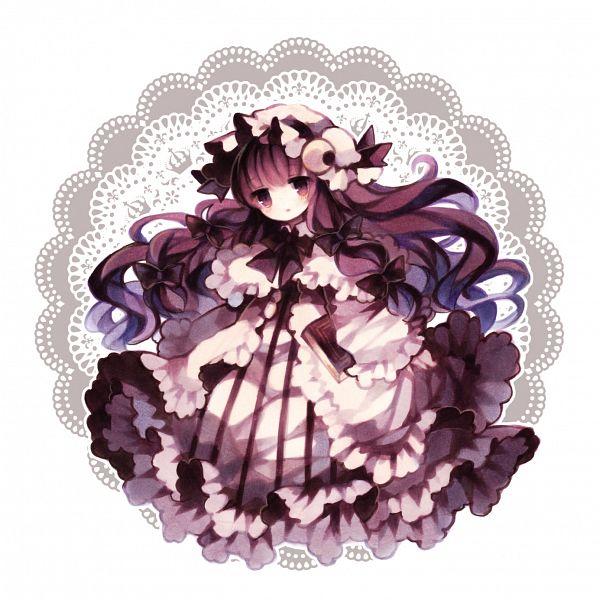 Tags: Anime, Takada07, Touhou, Patchouli Knowledge, Fanart From Pixiv, Fanart, Pixiv