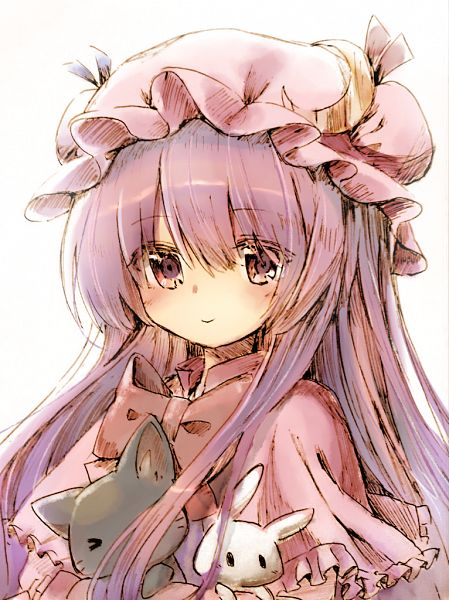 Tags: Anime, Pixiv Id 29070802, Touhou, Patchouli Knowledge, Moon Clip, Fanart, Fanart From Pixiv, Pixiv