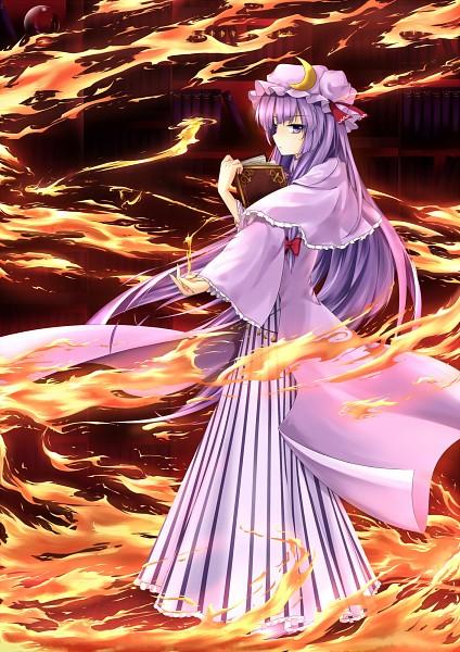 Tags: Anime, Zzz36951, Touhou, Patchouli Knowledge