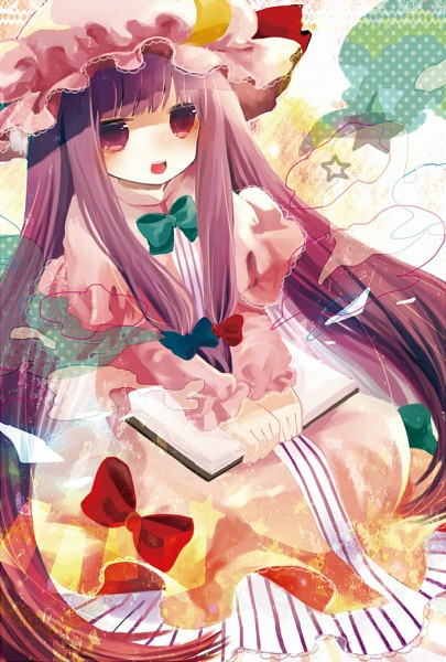 Tags: Anime, Touhou, Patchouli Knowledge, Pixiv