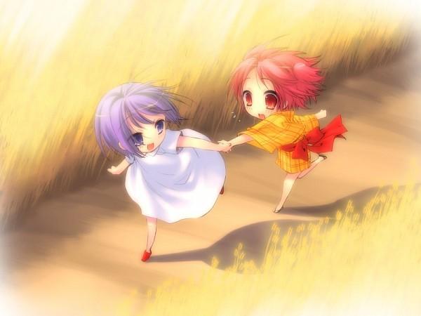 Tags: Anime, Peace@Pieces, Akizuki Nagi, Momose Hikaru