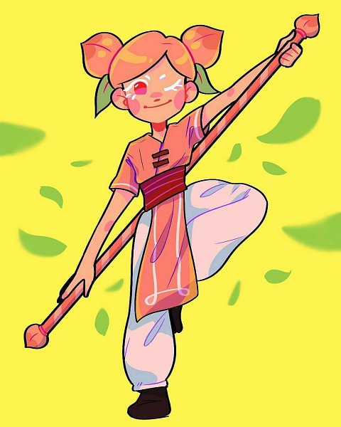 Tags: Anime, Tinyflowerr, Cookie Run, Peach Cookie, Fanart