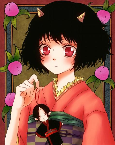 Tags: Anime, Lily (Pixiv 1619860), Hoozuki no Reitetsu, Peach Maki, Hoozuki (Hoozuki no Reitetsu), Pixiv, Fanart