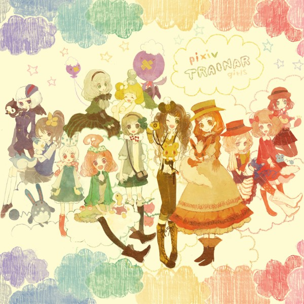 Tags: Anime, Pechika, Pokémon, Azumarill, Starly, Drifloon, Fan Character, Flareon, Azurill, Pachirisu, Original Trainer, Skitty, Shinx