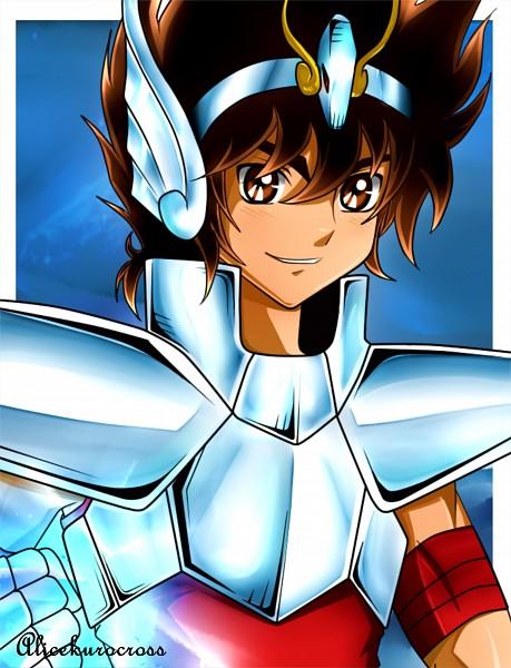 Tags: Anime, AliceKuroCross, Saint Seiya, Pegasus Seiya, Self Made
