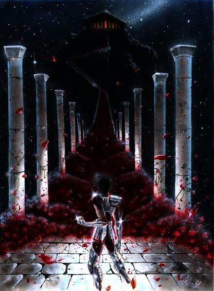 Tags: Anime, Saint Seiya, Pegasus Seiya, Artist Request, Bronze Saints