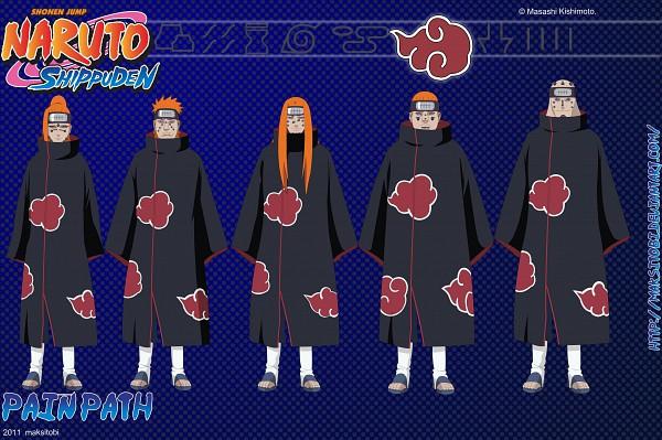 Tags: Anime, Maksitobi, NARUTO, Shuradou, Chikushoudou (Male), Ningendou, Gakidou, Jigokudou, Pein, Akatsuki (NARUTO)