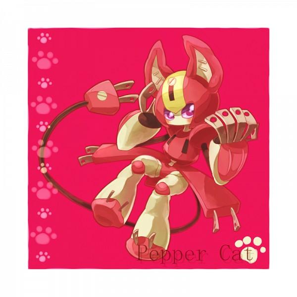 Tags: Anime, 801yamaarashi, Medarot, Peppercat, Plug, Power Plug
