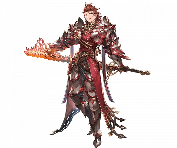 Tags: Anime, Minaba Hideo, Cygames, Granblue Fantasy, Percival (Granblue Fantasy), Cover Image, PNG Conversion, Official Art
