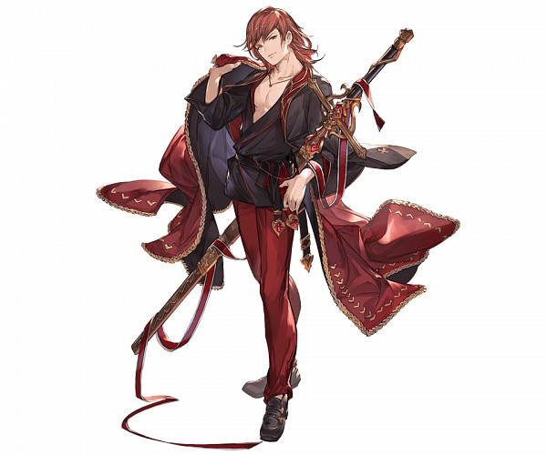 Tags: Anime, Minaba Hideo, Cygames, Granblue Fantasy, Percival (Granblue Fantasy), Cover Image, Official Art