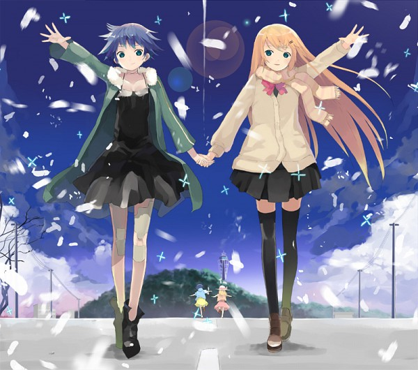 Tags: Anime, nauribon, Supercell, Fan Character, Walking Together, Pixiv, Perfect Day