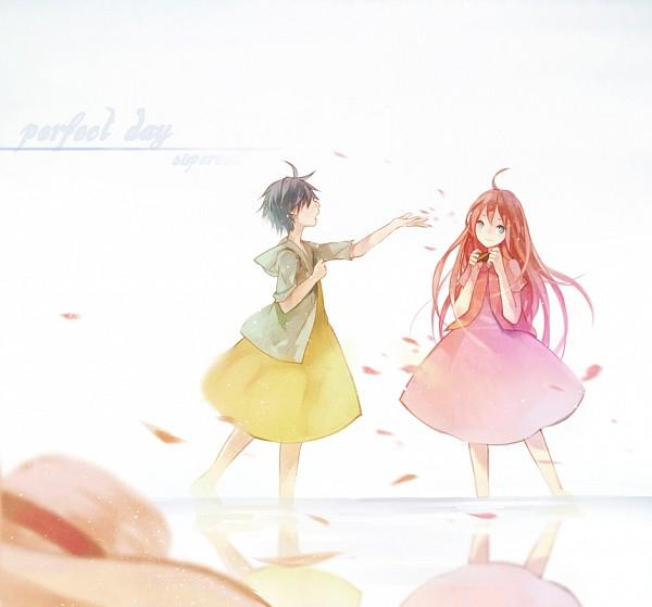 Tags: Anime, Ka Xiao En Ka Shu, Supercell, Gazelle Nagi, Fan Character, Perfect Day, Pixiv