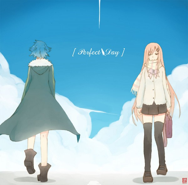 Tags: Anime, Supercell, Gazelle Nagi, Fan Character, Walking Past Each Other, Peaceful, Perfect Day