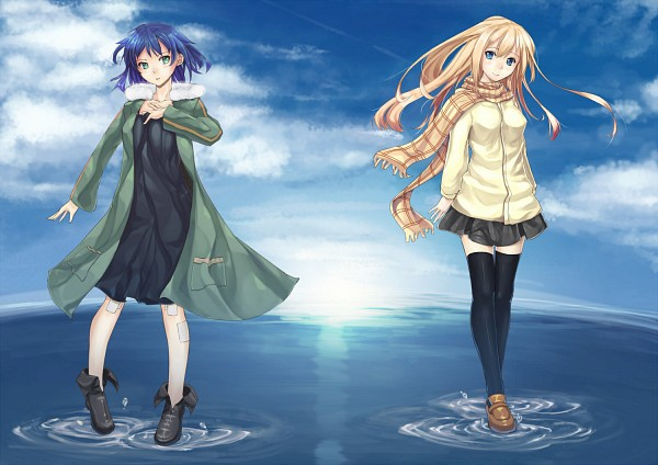 Tags: Anime, Supercell, Fan Character, Gazelle Nagi, Walking On Water, Perfect Day