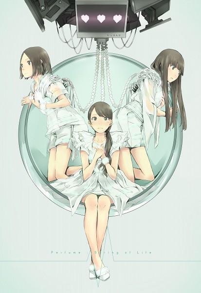 Tags: Anime, Yoshito, Nishiwaki Ayaka, Kashino Yuka, Oumoto Ayano, Pixiv, Mobile Wallpaper, Fanart, Spring of Life, J-Pop, Fanart From Pixiv, Perfume (Band)