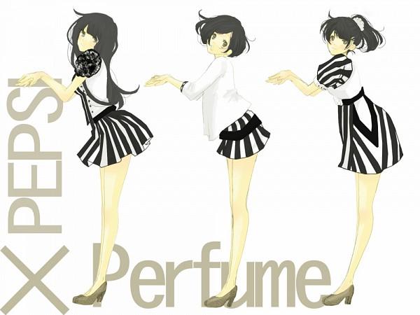 Tags: Anime, Maru / まる, Kashino Yuka, Oumoto Ayano, Nishiwaki Ayaka, Pixiv, Fanart, Pepsi NEX, J-Pop, Perfume (Band)