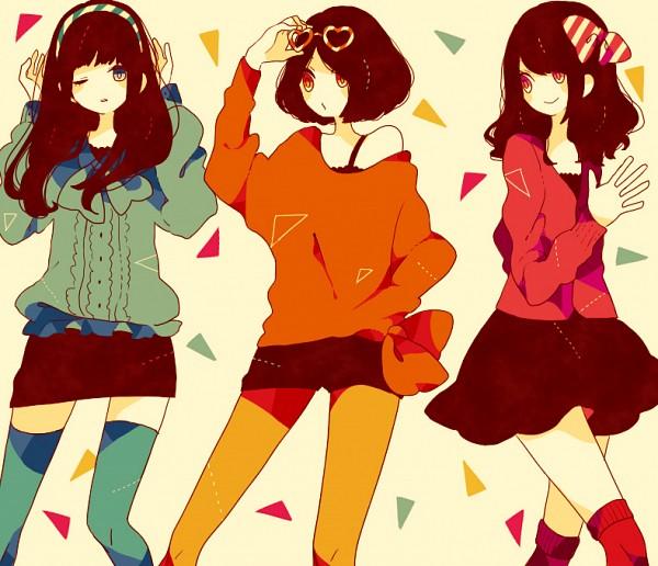 Tags: Anime, Maco22, Oumoto Ayano, Nishiwaki Ayaka, Kashino Yuka, J-Pop, Perfume (Band)
