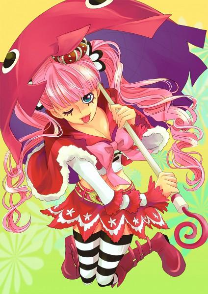 Tags: Anime, Himerinco, ONE PIECE, Perona, Animal Shaped Umbrella, ;P, Mobile Wallpaper, Pixiv