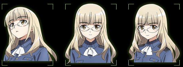 Tags: Anime, Takamura Kazuhiro, david production, Strike Witches: Road to Berlin, Strike Witches, Perrine H. Clostermann, Official Art