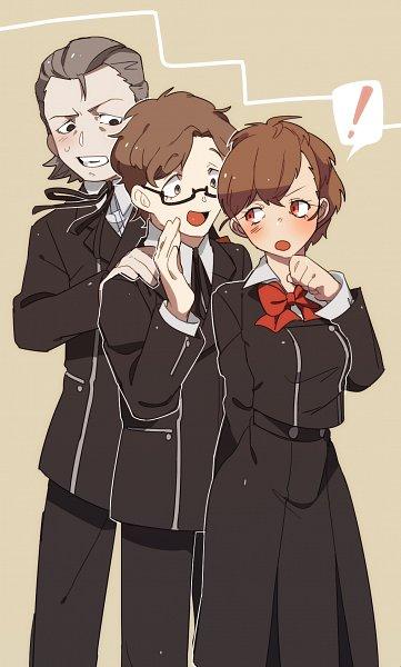 Tags: Anime, Pixiv Id 7640910, Persona 3 Portable, Shin Megami Tensei: PERSONA 3, Female Protagonist (PERSONA 3), Hiraga Keisuke, Odagiri Hidetoshi, Character Request