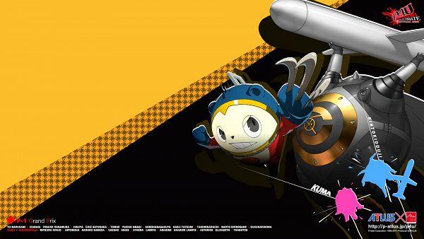Tags: Anime, Soejima Shigenori, Persona 4: The Ultimate In Mayonaka Arena, Shin Megami Tensei: PERSONA 4, Kuma, Kintokidouji, Official Art, Official Wallpaper, Wallpaper, HD Wallpaper, Persona 4 Arena