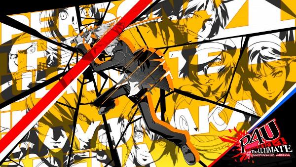 Tags: Anime, Soejima Shigenori, Persona 4: The Ultimate In Mayonaka Arena, Shin Megami Tensei: PERSONA 4, Shin Megami Tensei: PERSONA 3, Amagi Yukiko, Narukami Yu, Kirijou Mitsuru, Sanada Akihiko, Shirogane Naoto, Aegis, Hanamura Yousuke, Kuma, Persona 4 Arena
