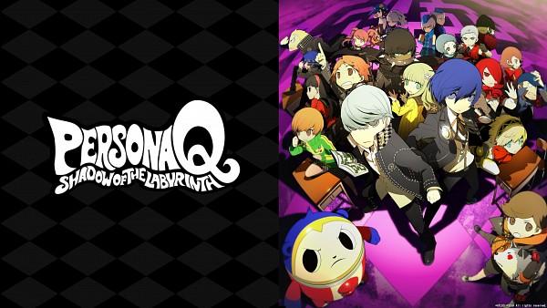 Tags: Anime, Atlus, Persona Q: Shadow Of The Labyrinth, Satonaka Chie, Yuuki Makoto (PERSONA 3), Kirijou Mitsuru, Narukami Yu, Amagi Yukiko, Zen (Persona Q), Takeba Yukari, Margaret (PERSONA 4), Amada Ken, Aragaki Shinjirou