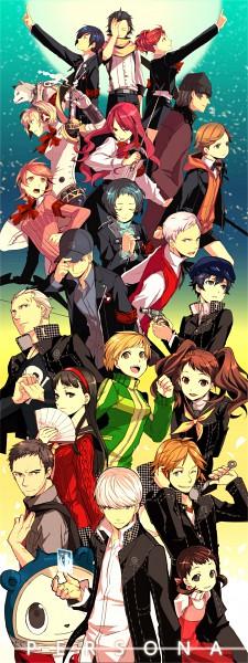 Tags: Anime, Tonkotsu Ramen, Persona 3 Portable, Shin Megami Tensei: PERSONA 3, Shin Megami Tensei: PERSONA 4, Koromaru, Yuuki Makoto (PERSONA 3), Kirijou Mitsuru, Female Protagonist (PERSONA 3), Satonaka Chie, Hanamura Yousuke, Takeba Yukari, Narukami Yu