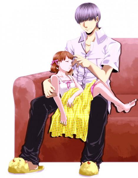 Tags: Anime, Chiru (Sanifani), Shin Megami Tensei: PERSONA 4, Doujima Nanako, Narukami Yu, Pixiv