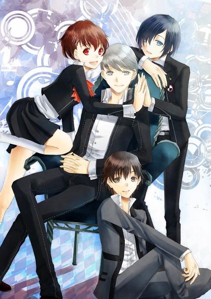 Tags: Anime, Persona - Trinity Soul, Persona 3 Portable, Shin Megami Tensei: PERSONA 4, Shin Megami Tensei: PERSONA 3, Kanzato Shin, Narukami Yu, Female Protagonist (PERSONA 3), Yuuki Makoto (PERSONA 3), Fanart