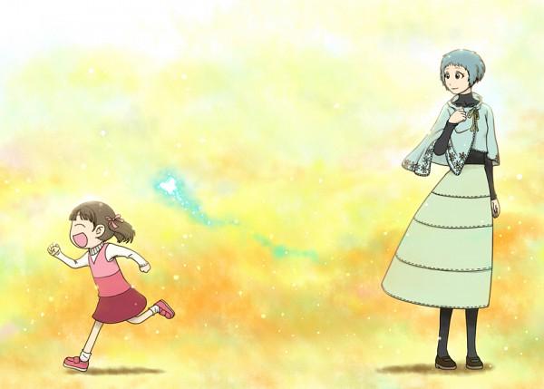 Tags: Anime, Shin Megami Tensei: PERSONA 4, Shin Megami Tensei: PERSONA 3, Yamagishi Fuuka, Doujima Nanako, Yotsuba&! (Parody)