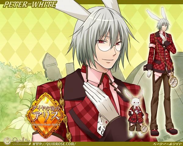 Tags: Anime, Hoshino Soumei, QuinRose, Diamond no Kuni no Alice ~Wonderful wonder World~, Heart no Kuni no Alice, Peter White, Graveyard, Official Art, Official Wallpaper, Wallpaper