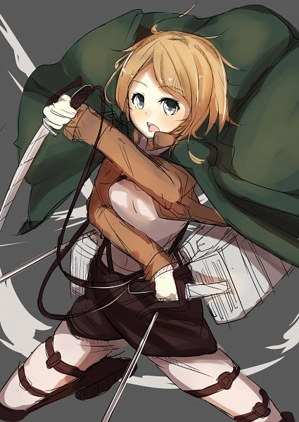 Tags: Anime, Pixiv Id 5588389, Attack on Titan, Petra Ral, Mobile Wallpaper