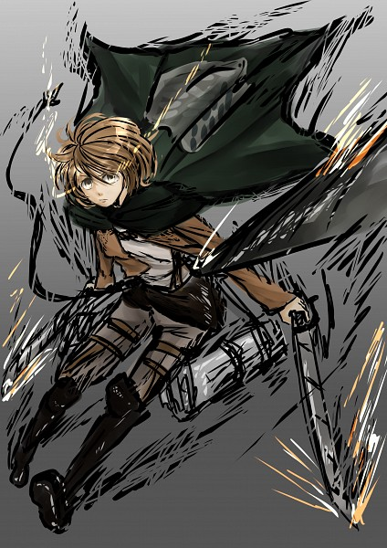 Tags: Anime, Pixiv Id 7205393, Attack on Titan, Petra Ral, Mobile Wallpaper