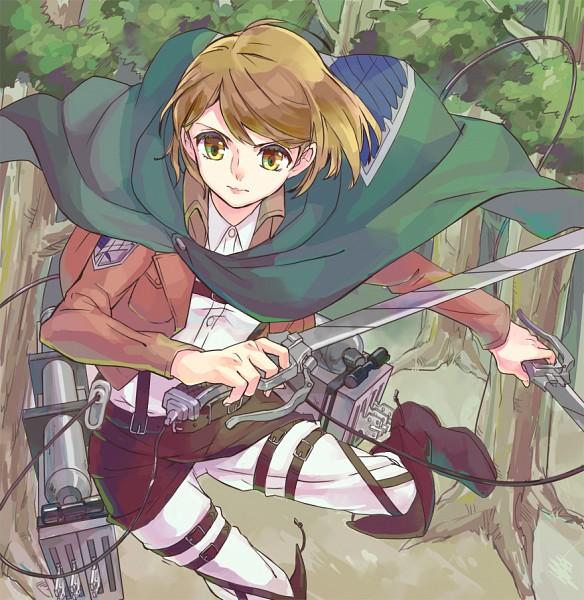 Tags: Anime, Rikovui, Attack on Titan, Petra Ral, Pixiv