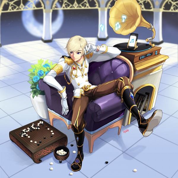Tags: Anime, MapleStory, Phantom (MapleStory), Fanart, Artist Request