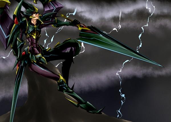 Tags: Anime, Ryuyou, Cardfight!! Vanguard, Phantom Blaster Overlord, Fanart, Pixiv, Shadow Paladin, Vanguard Unit, Vanguard Race: Abyss Dragon