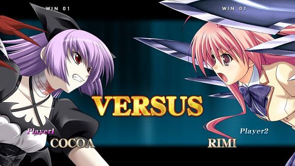Tags: Anime, Suzuhira Hiro, Phantom Breaker, ChäoS;HEAd, Cocoa (Phantom Breaker), Sakihata Rimi, Screenshot