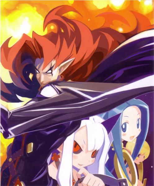 Tags: Anime, Harada Takehito, Nippon Ichi Software, Phantom Kingdom, Zetta, Salome, Pram, Trenia, Official Art