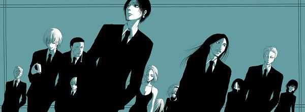 Tags: Anime, Pixiv Id 2855622, Hunter x Hunter, Franklin, Uvogin, Phinks Magcub, Shalnark, Pakunoda, Nobunaga Hazama, Feitan Portor, Machi Komacine, Kortopi, Chrollo Lucifer